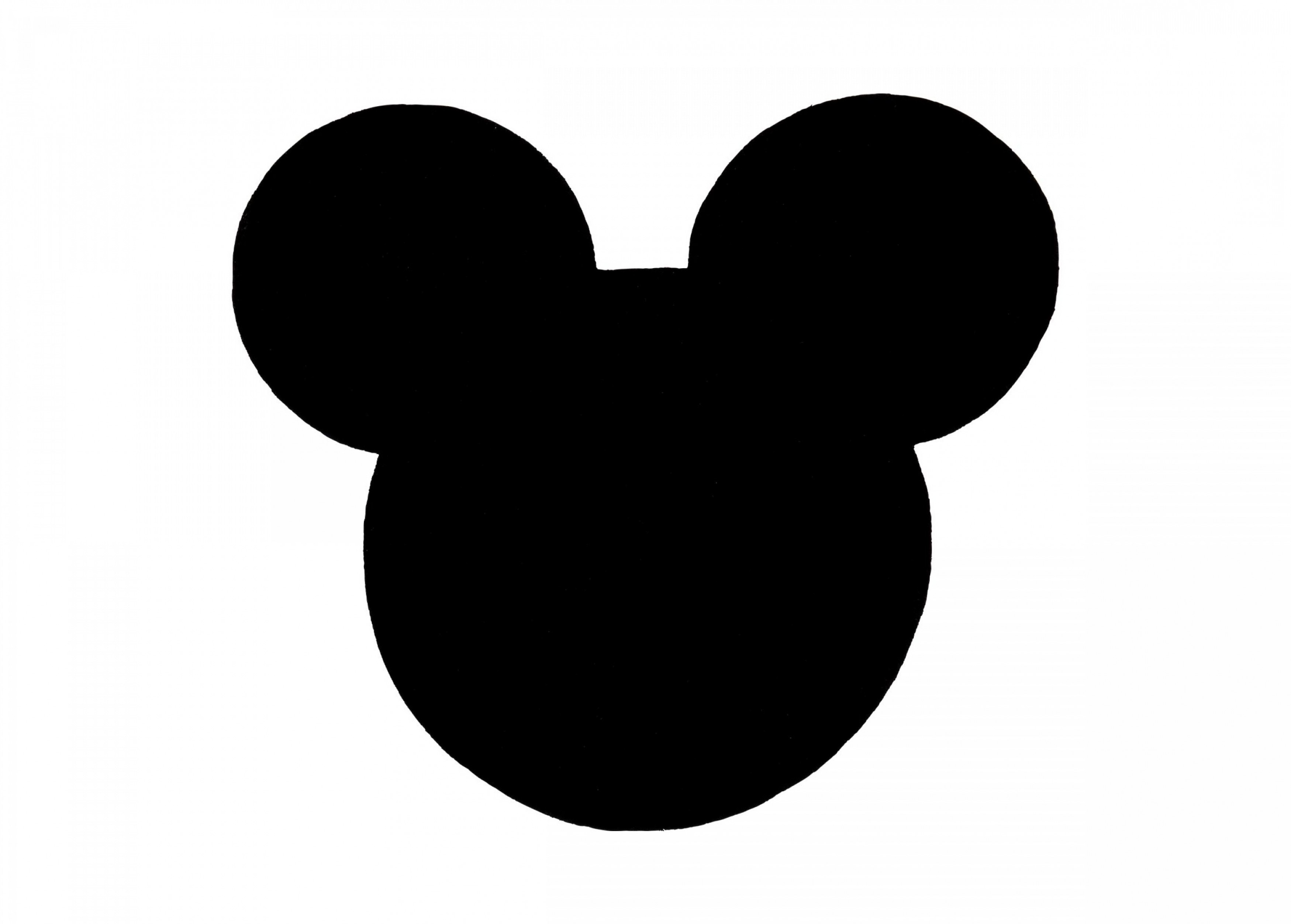 Vector Mickey Mouse Christmas: Mickey Mouse Black And White Face
