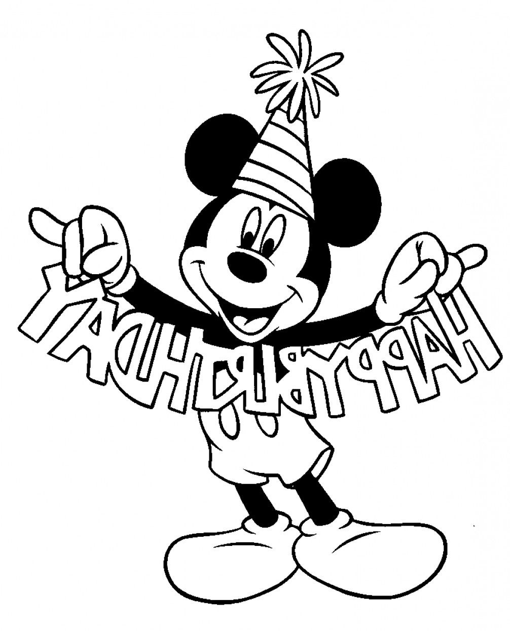 Vector Mickey Mouse Christmas: Mickey Mouse Clip Art Free Black And White