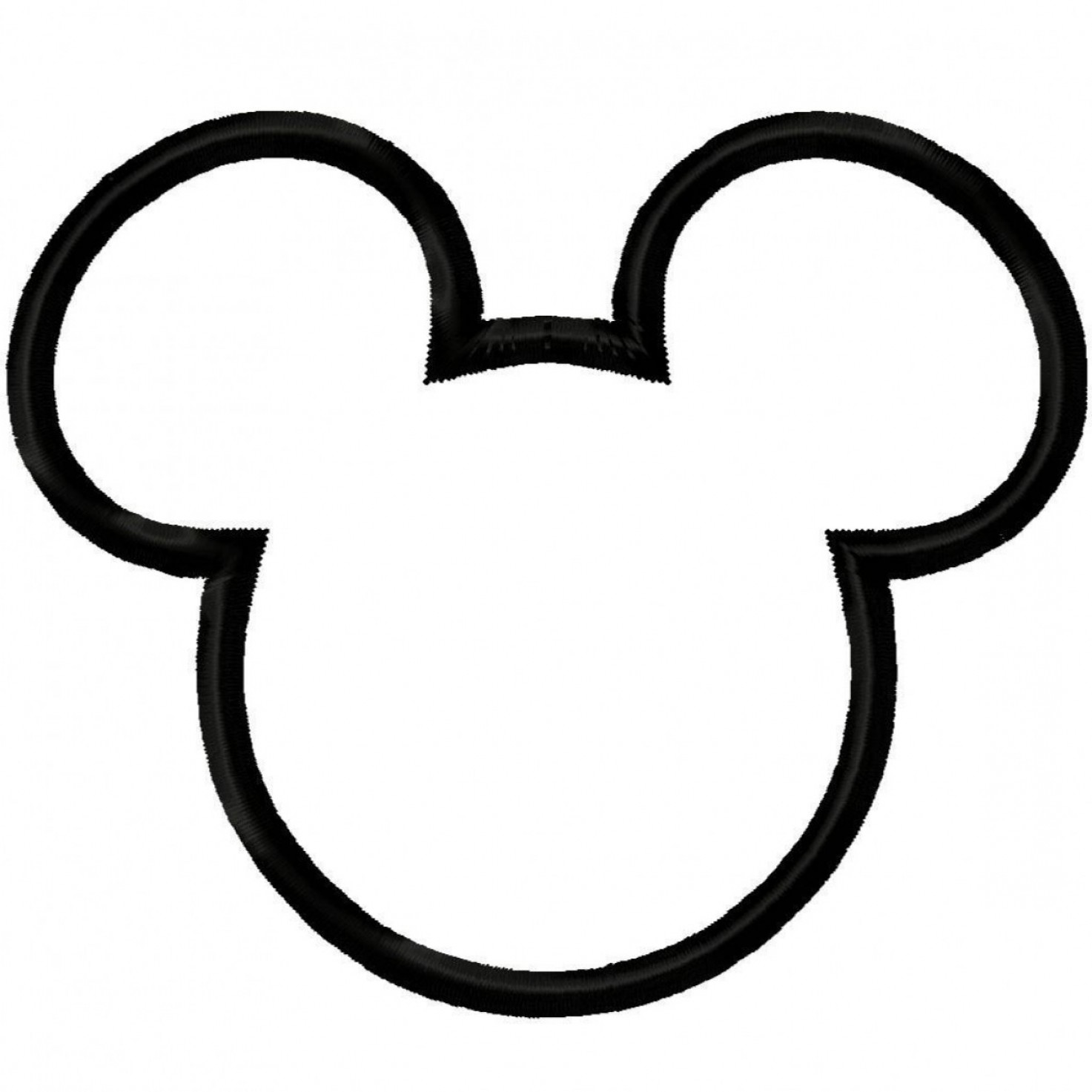 mickey mouse ears clipart black and white createmepink rh createmepink com