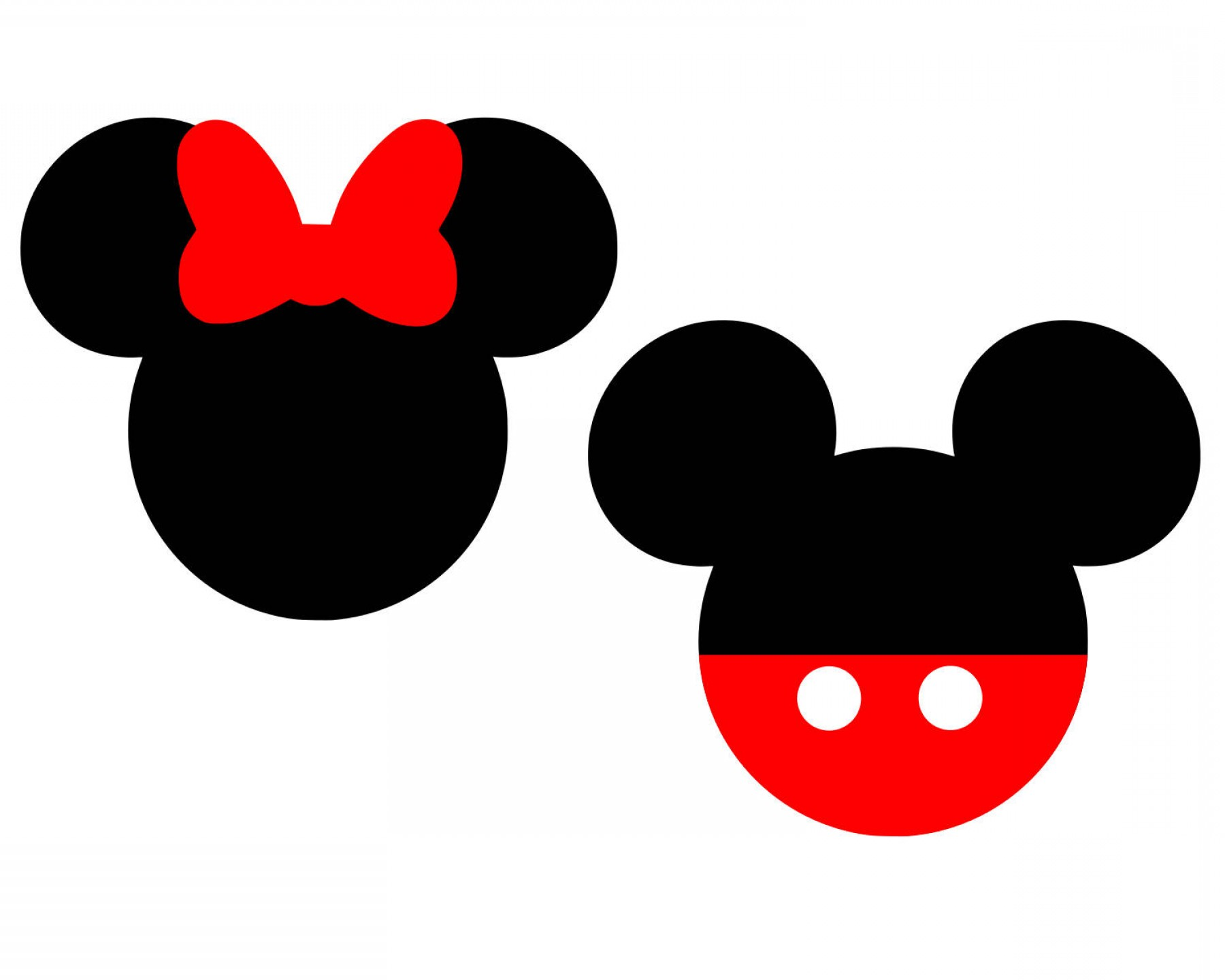 Minnie Mouse Party Hat Vector: Mickey Mouse Svg Disney Svg Minnie Mouse