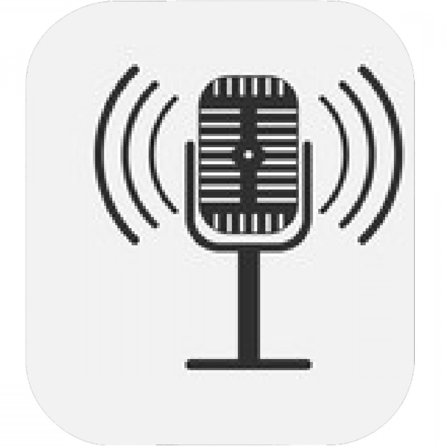 Mics Vector Designs: Microphone Isolated On White Background Vector Illustration