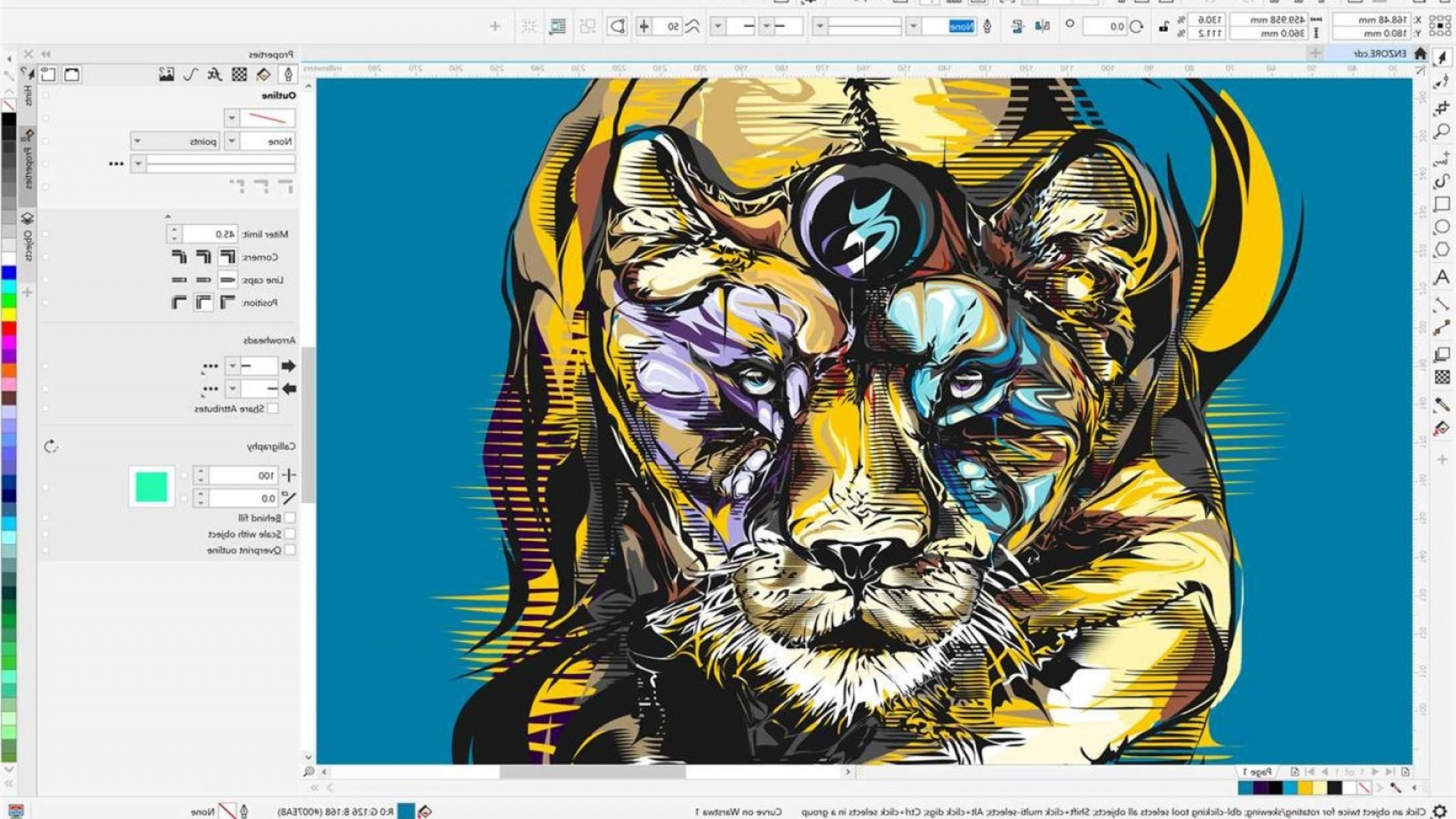 Vector Drawing App Windows 8: Microsoft Store Gains A New Windows Drawing App With Coreldraw