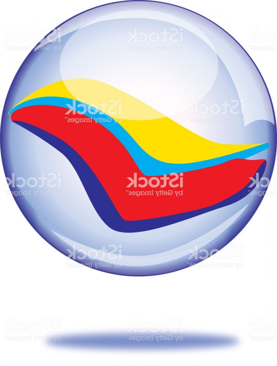 Vector Sphere Marble: Mid Air Marble Icon Gm