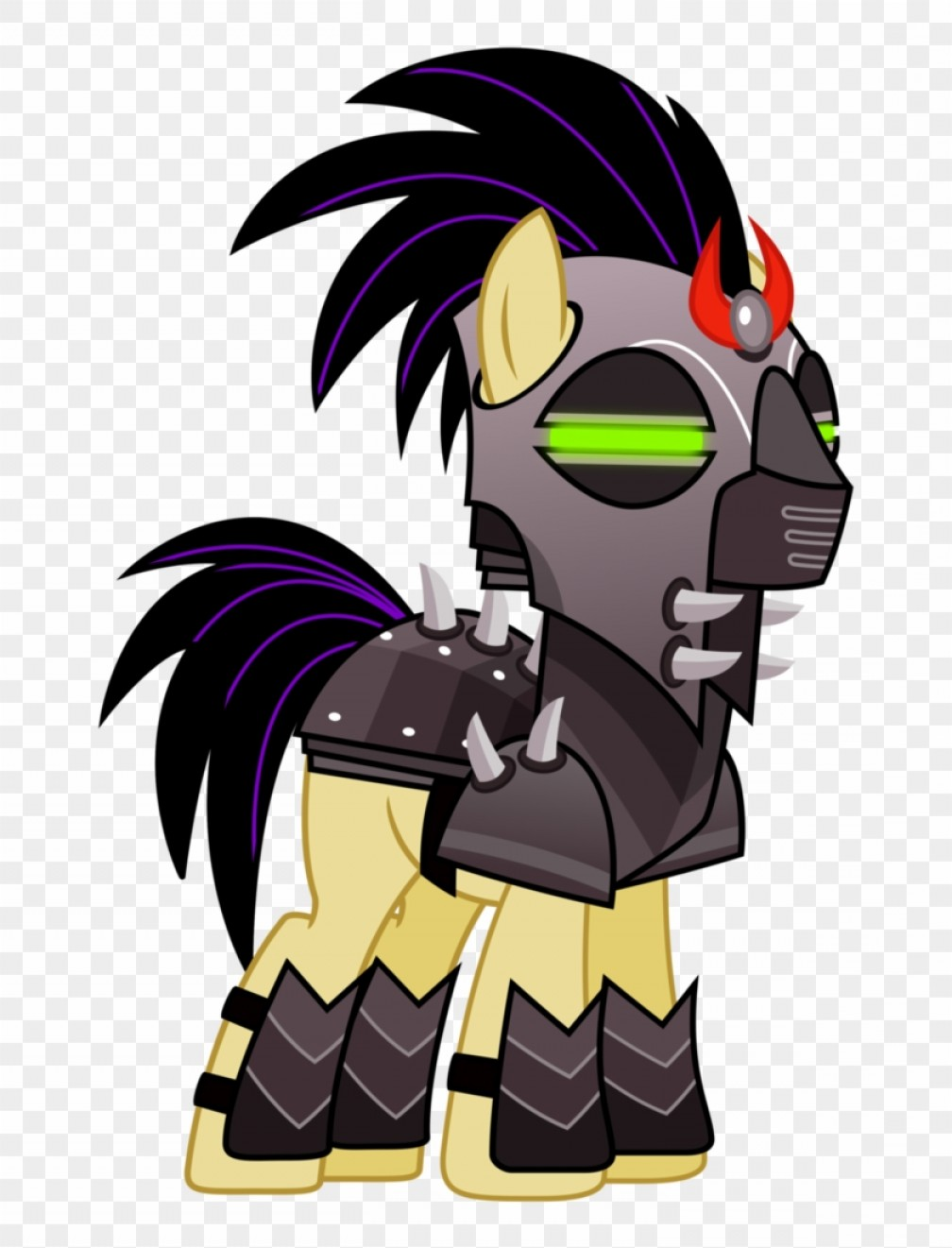King Sombra Vector: Mihiknhkcrystal Empire Soldier By Cheezedoodle Mlp King Sombra Soldier