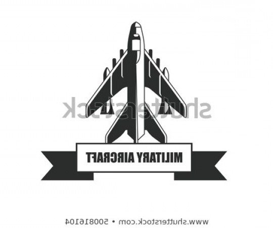 Old School Airplane Fighter Silhouette Vector: Military Aircraft Su Vector Airplane Silhouette