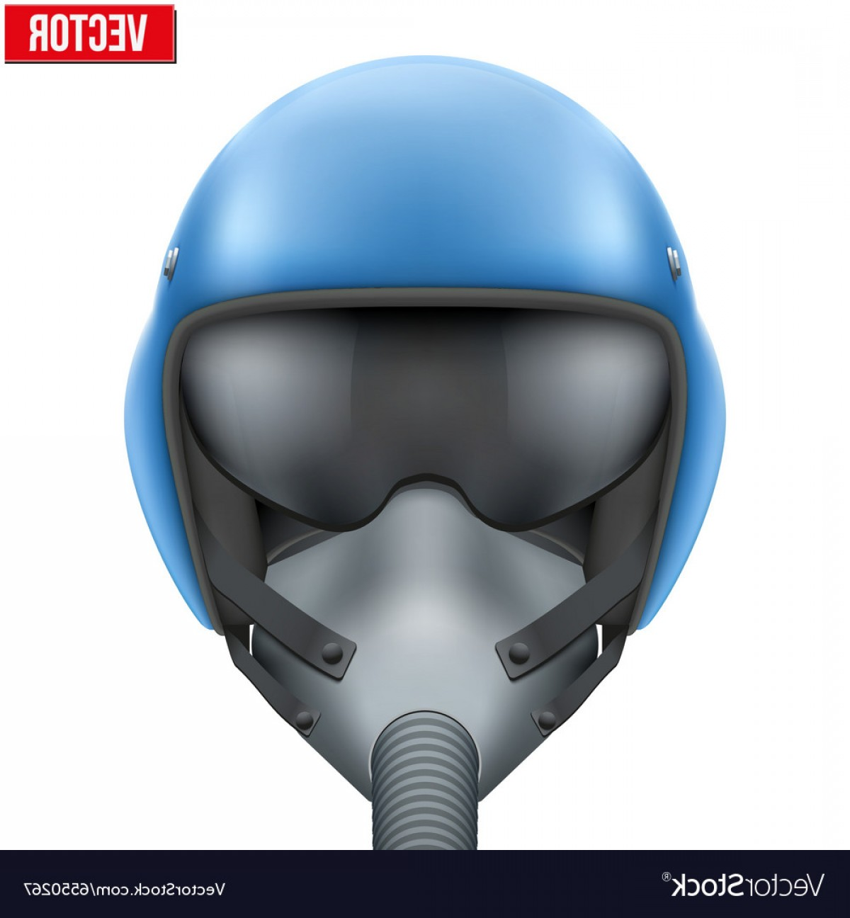 Fighter Helmet Vectors: Military Flight Fighter Pilot Helmet Vector