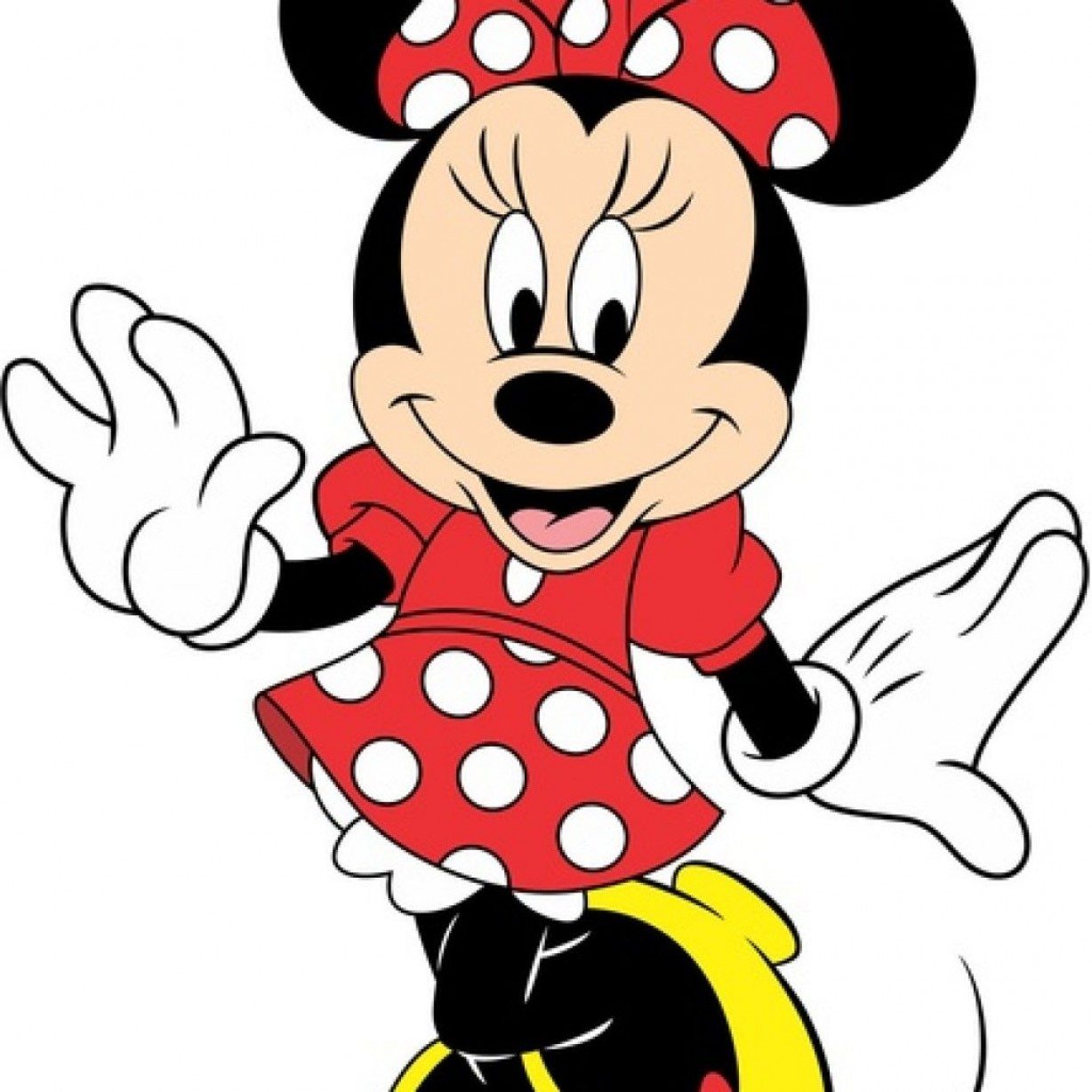 Minnie Mouse Vector Clip Art: Minnie Mouse Images Free Volleyball Clipart