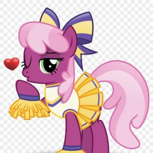 Base Cheerleader Vector Art: Mizgikhavector Brony Blowing A Kiss Bow Cheerilee Cheerileeder Mlp Cheerilee Vector