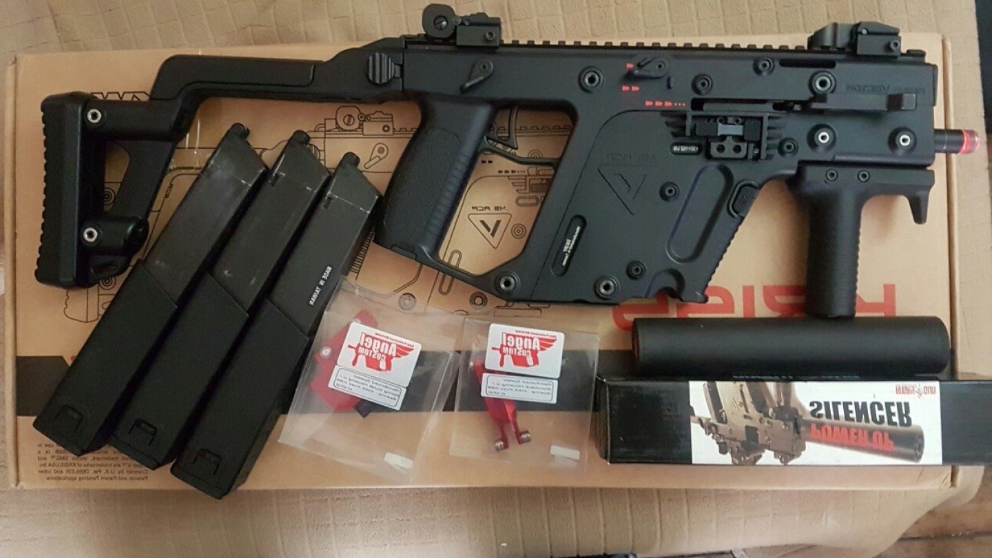 Airsoft KWA KRISS Vector: Mlc Replica Airsoft Kriss Vector Kwa Jm