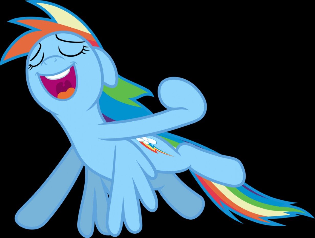 MLP Tank Flying Vector: Mlp Fim Rainbow Dash I Can Fly Vector
