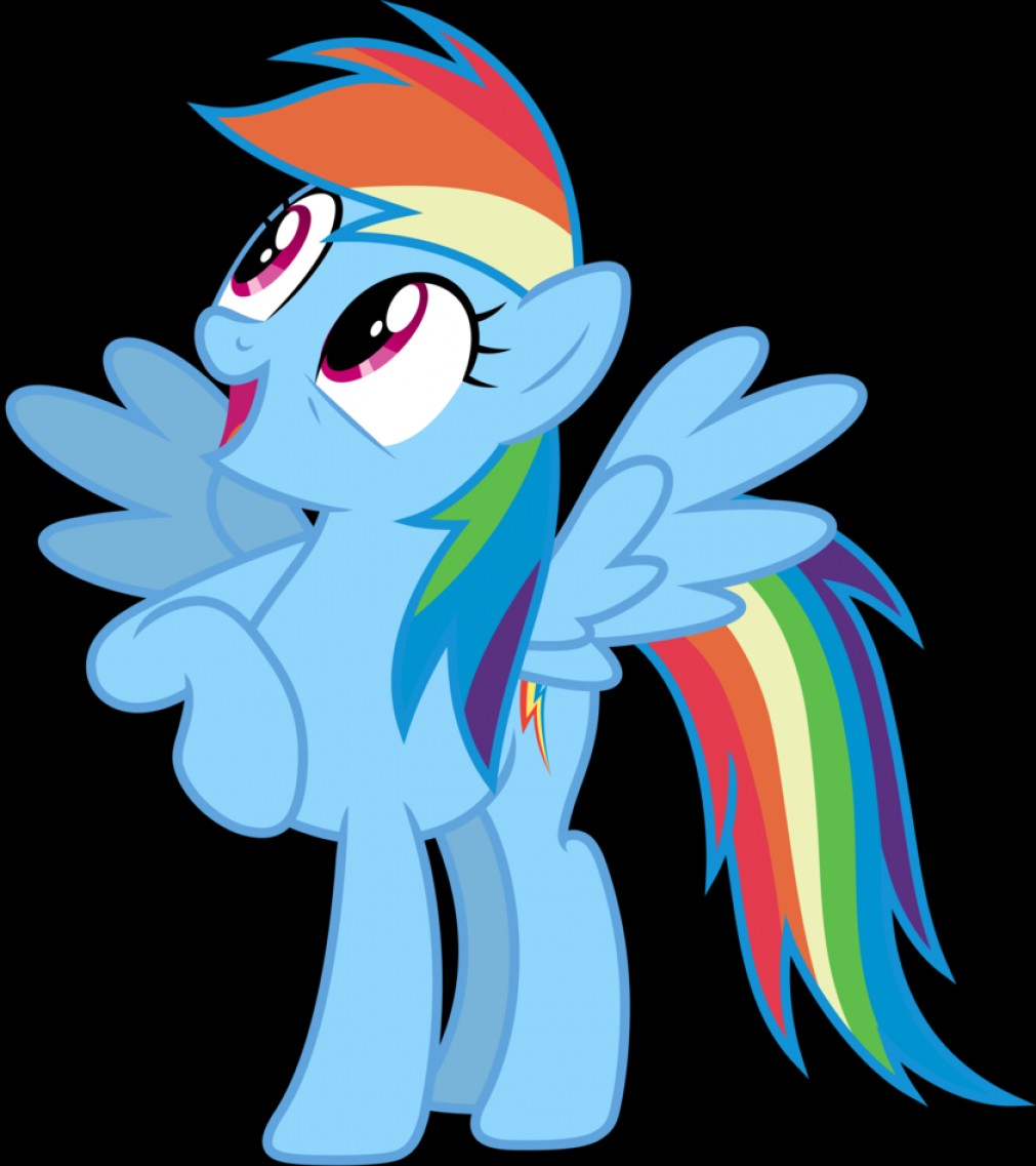 Vector My Little Pony Film: Mlp Fim Rainbow Dash Wow Vector Luckreza Dzpbn Fanart