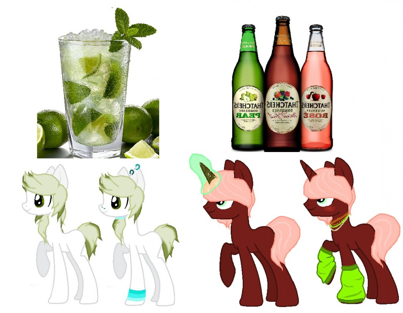 MLP Vector Food And Drink: Mlp Food Drinks And Cutie Marks