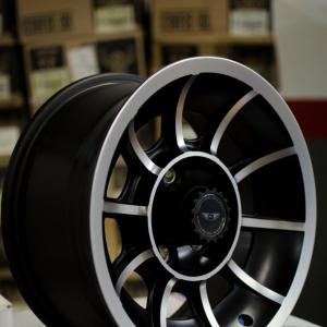 American Racing Vector Rims: Polished American Racing Vector Wheels
