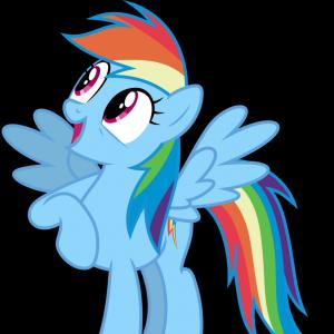 Vector My Little Pony Film: Mihbahnarainbow Dash Vector My Little Pony Rainbow Dash Gif