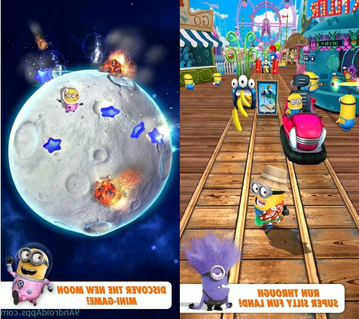 Defeat Vector In Minion Rush: Mod Despicable Me V U Apk Unlimited Money
