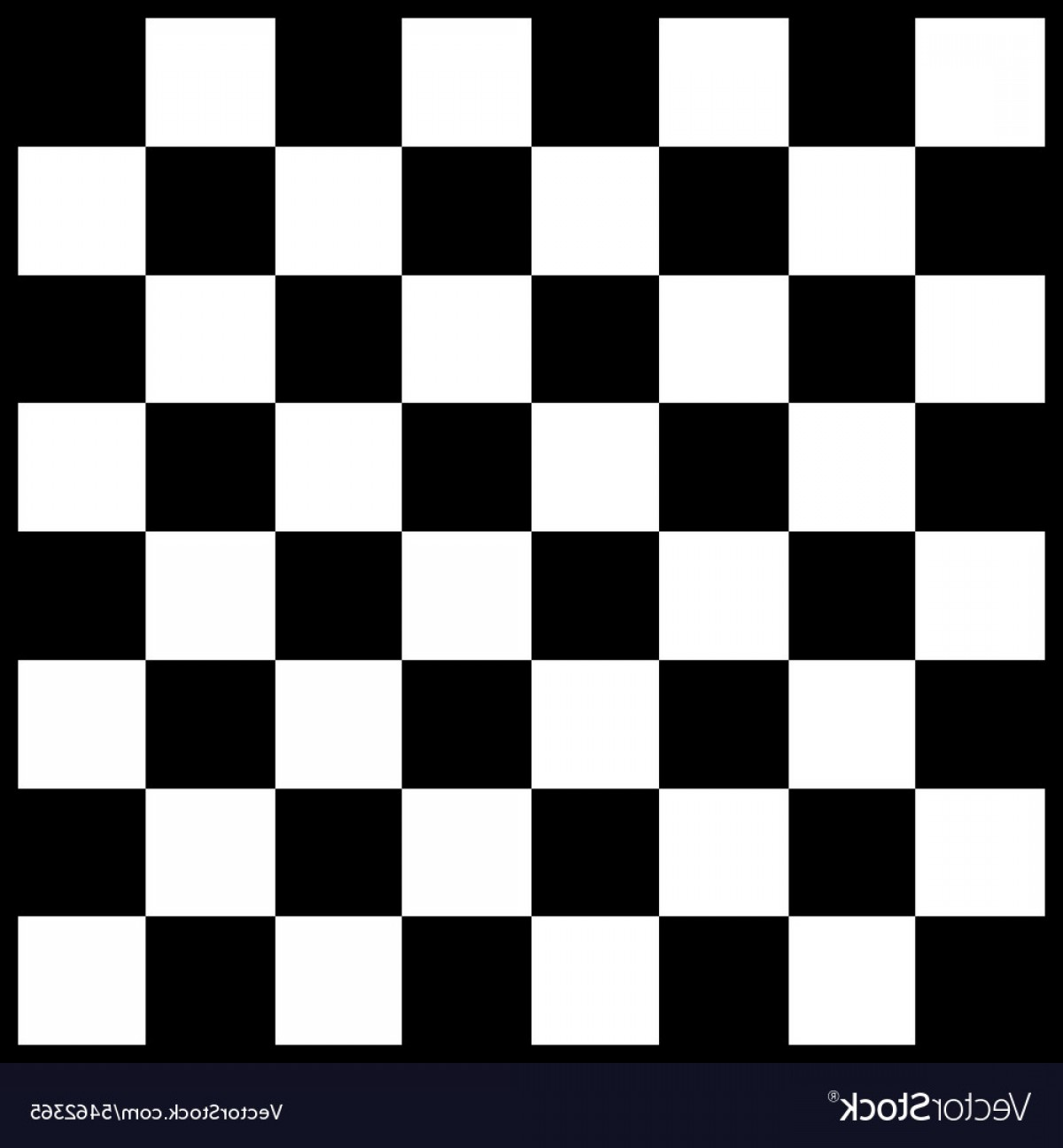 Chess Vector Background: Modern Chess Board Background Design Vector