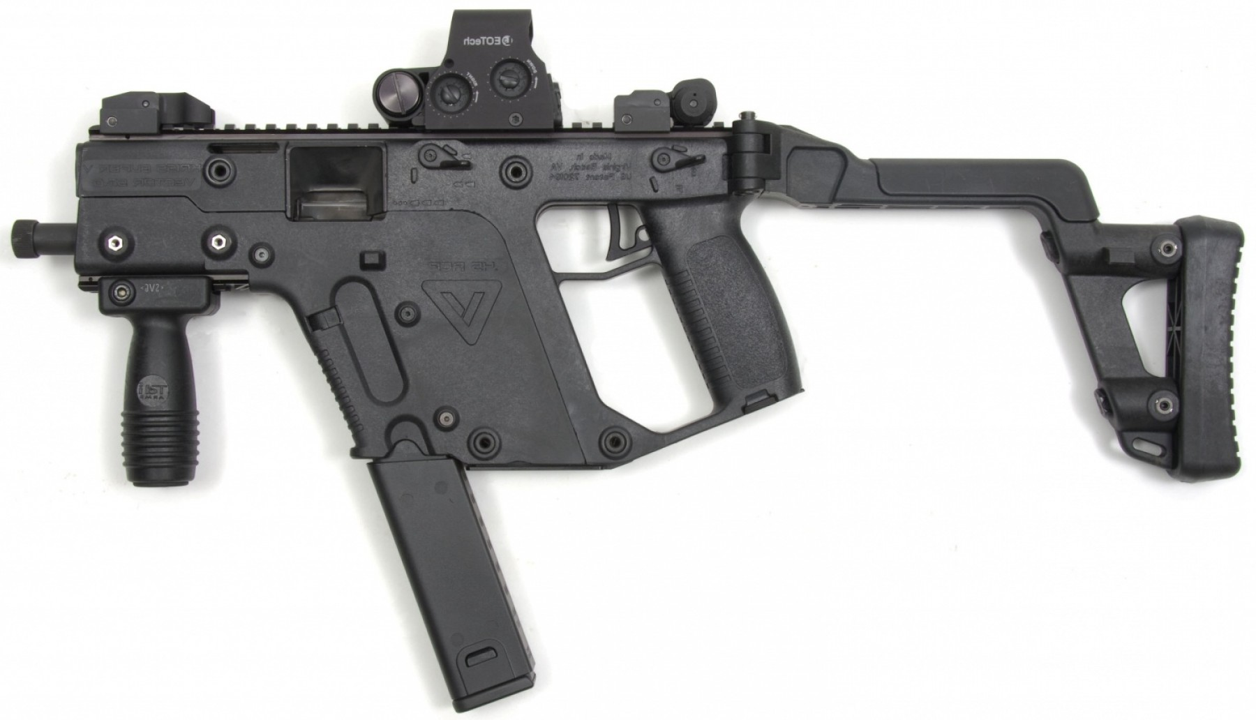 Kriss Vector Pistol Brace: More Brace Options From Sb Tactical