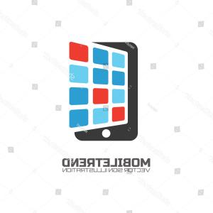 Vector Technology Store: App Store Technology Icons Vector