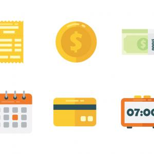 Payroll Icon Vector: Money Payroll Icon Simple Illustration Of Money Payroll Vector Icon For Web Design Isolated On White Background Image