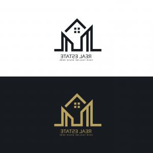 House Construction Company Vector Above: Arrow House Business Logo Design