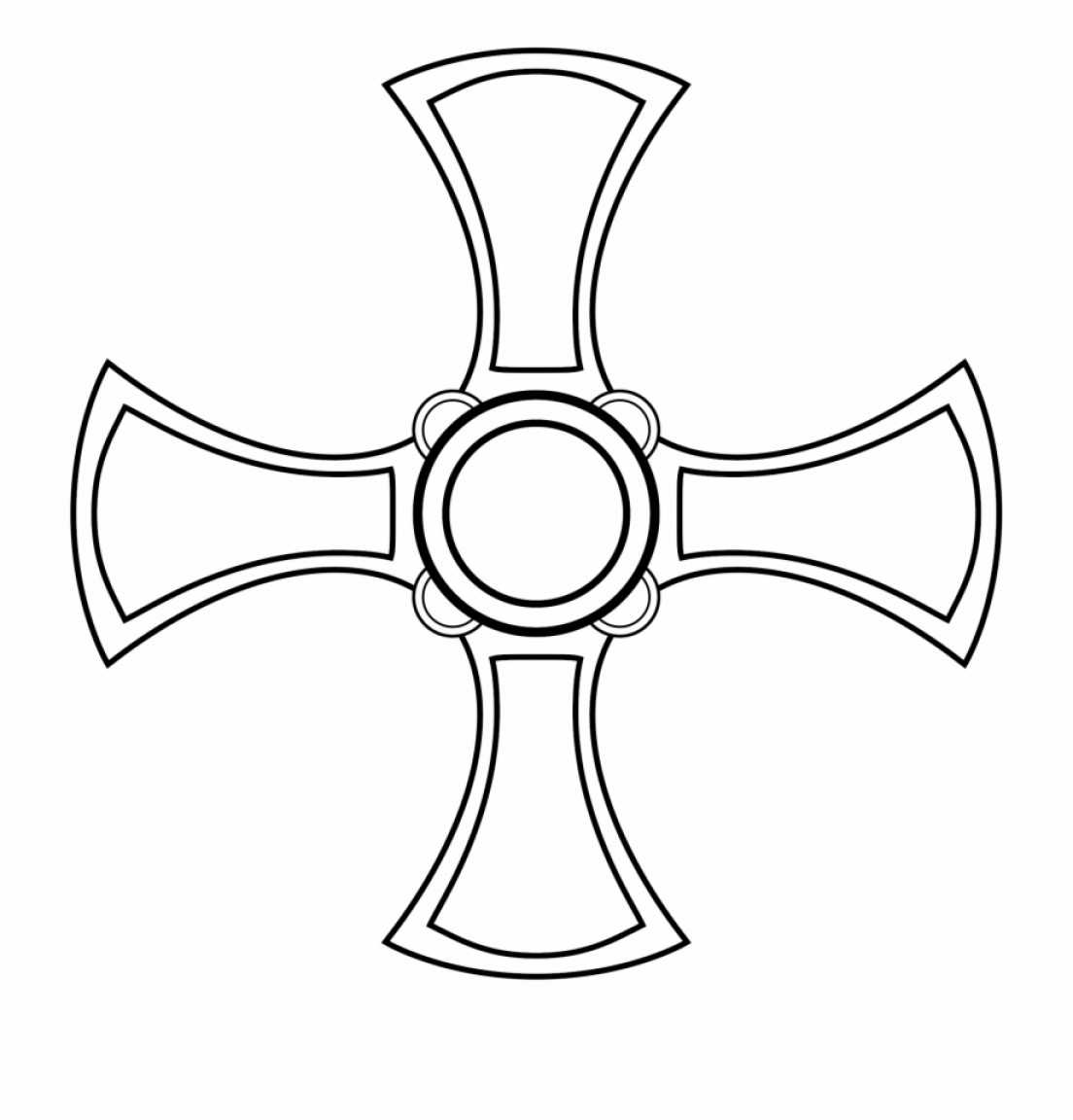 Cool Cross Vector Clip Art: Mtriowst Cuthberts Cross Vector Png Download Cross