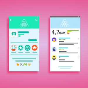 Google Play Interface Vector: Music Player Interface Vector