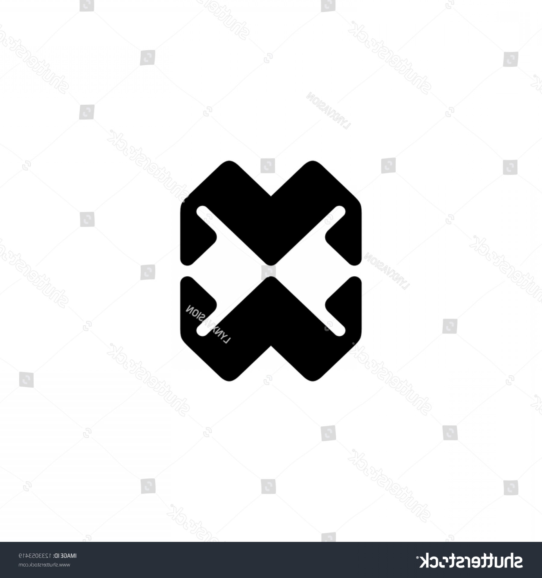 Abstract Vector Logo 512X512: Mw Monogram Icon Initial Logo Design