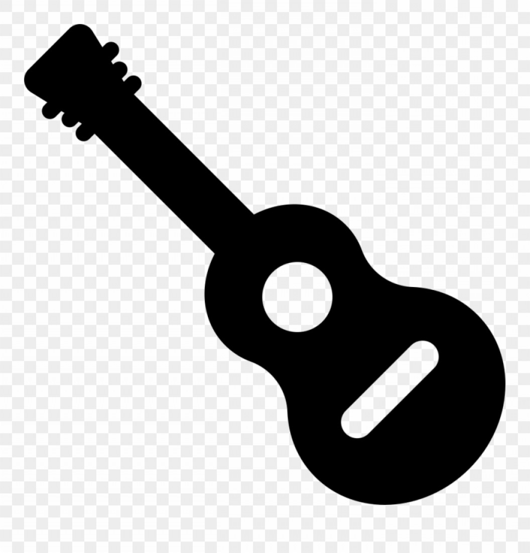 Vector Guitar Clip Art Black And White: Mxxxbinclined Png Icon Free Black And White Guitar
