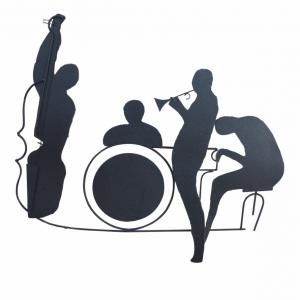 Jazz Silhouette Vector: Mxxohbclip Transparent Download Band Vector Jazz Old Big