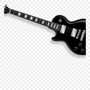 Vector Guitar Clip Art Black And White: Mxxrxfree Guitar Clipart Black Guitar Clip Art Free