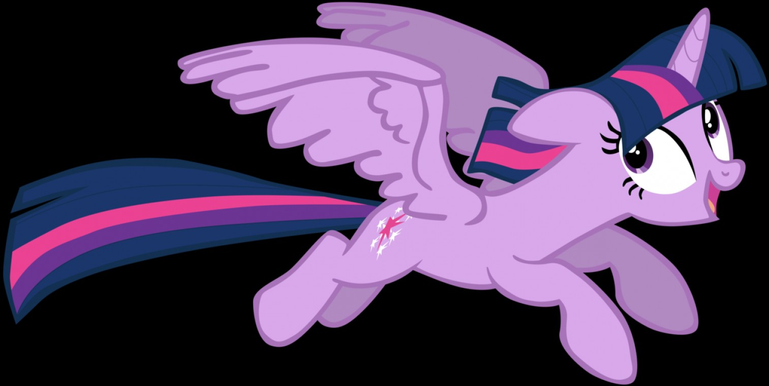 Alicorn Twilight Flying Vector: My Seventh Vector Of Twilight Sparkle