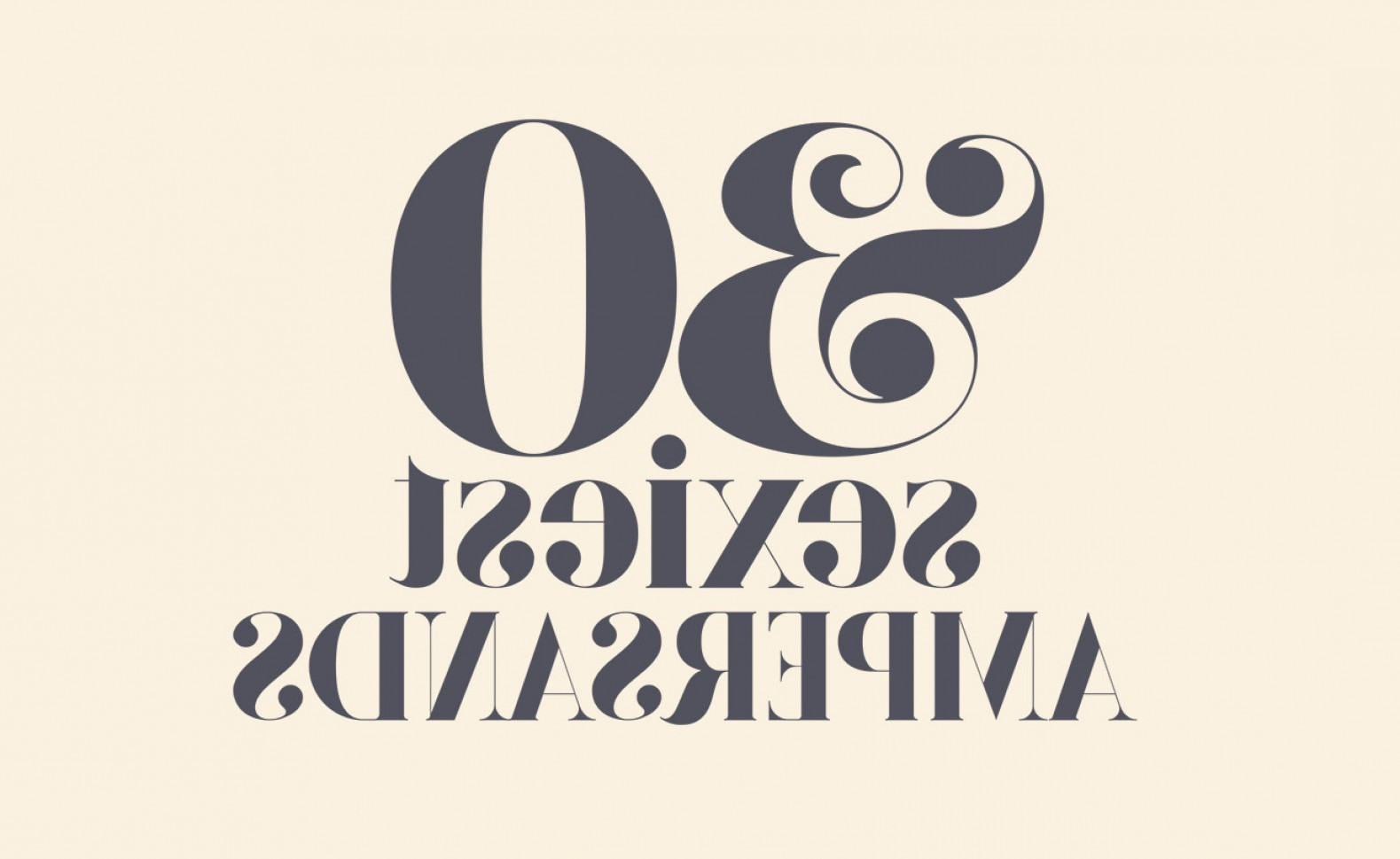 Fancy Ampersand Vector: My Top Fonts With The Sexiest Ampersands