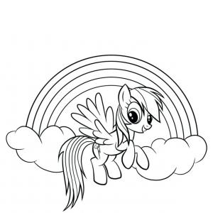 MLP OC Vector Family: My Little Pony Coloring Pages Rainbow Dash And Book Offsetsheet Co Dash