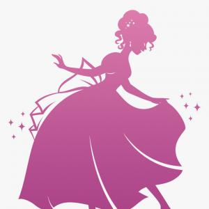 Glass Slipper Vector: My Other Shoes Are Glass Slippers Vector Cut File Svg