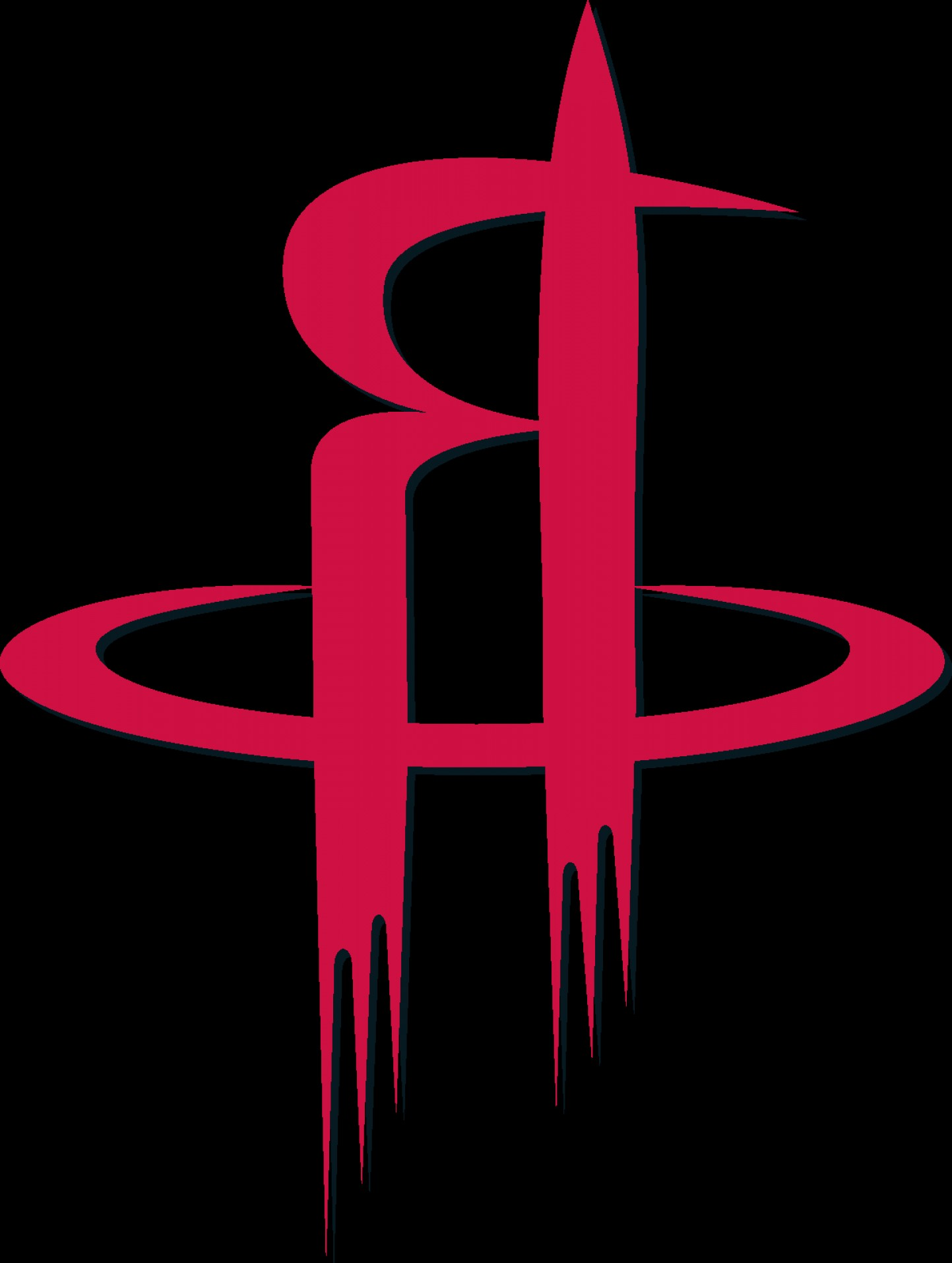 Vector NBA LogoArt: Nba Houston Rockets Logo Eps File