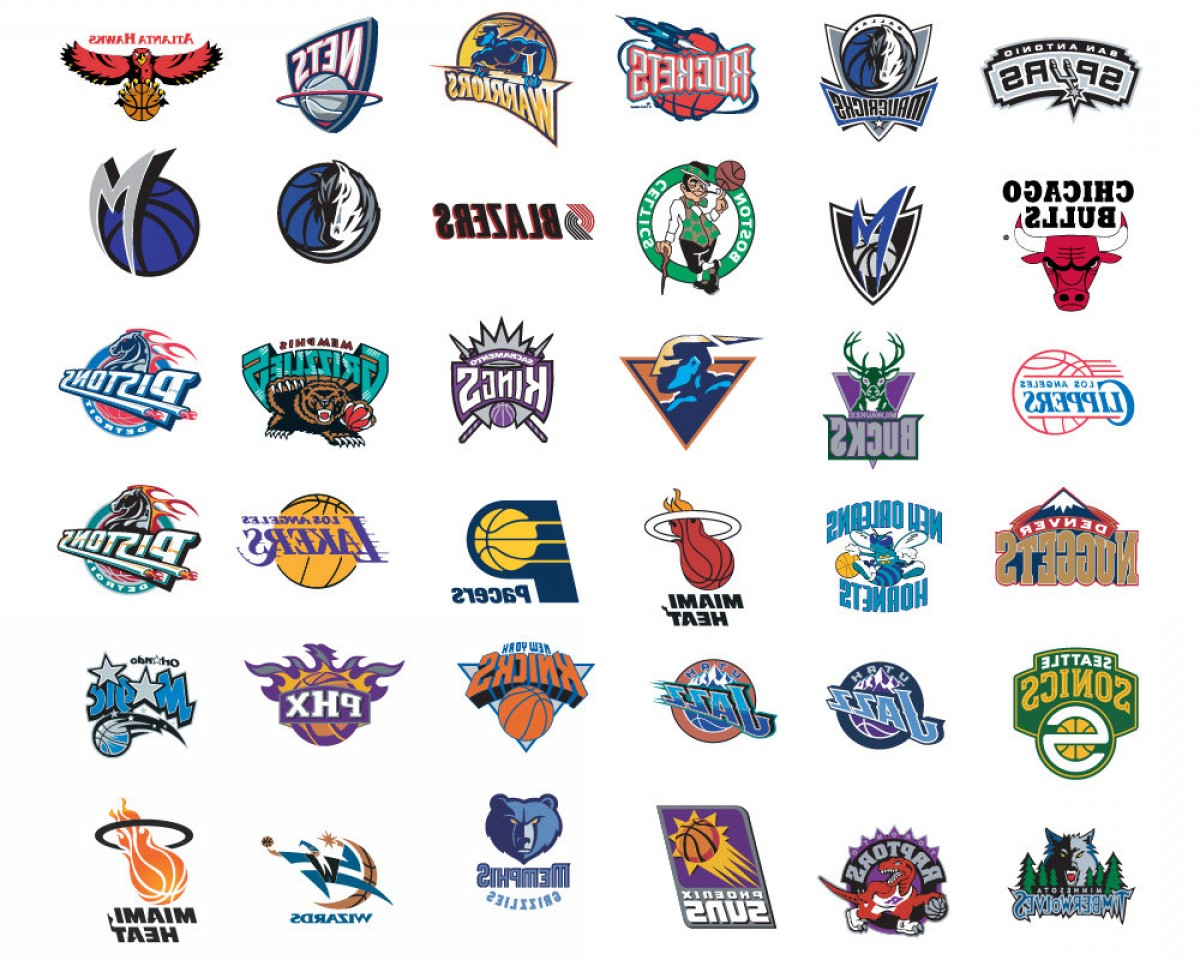 Vector NBA LogoArt: Nba Logo Team All Nba Team Logos Vector
