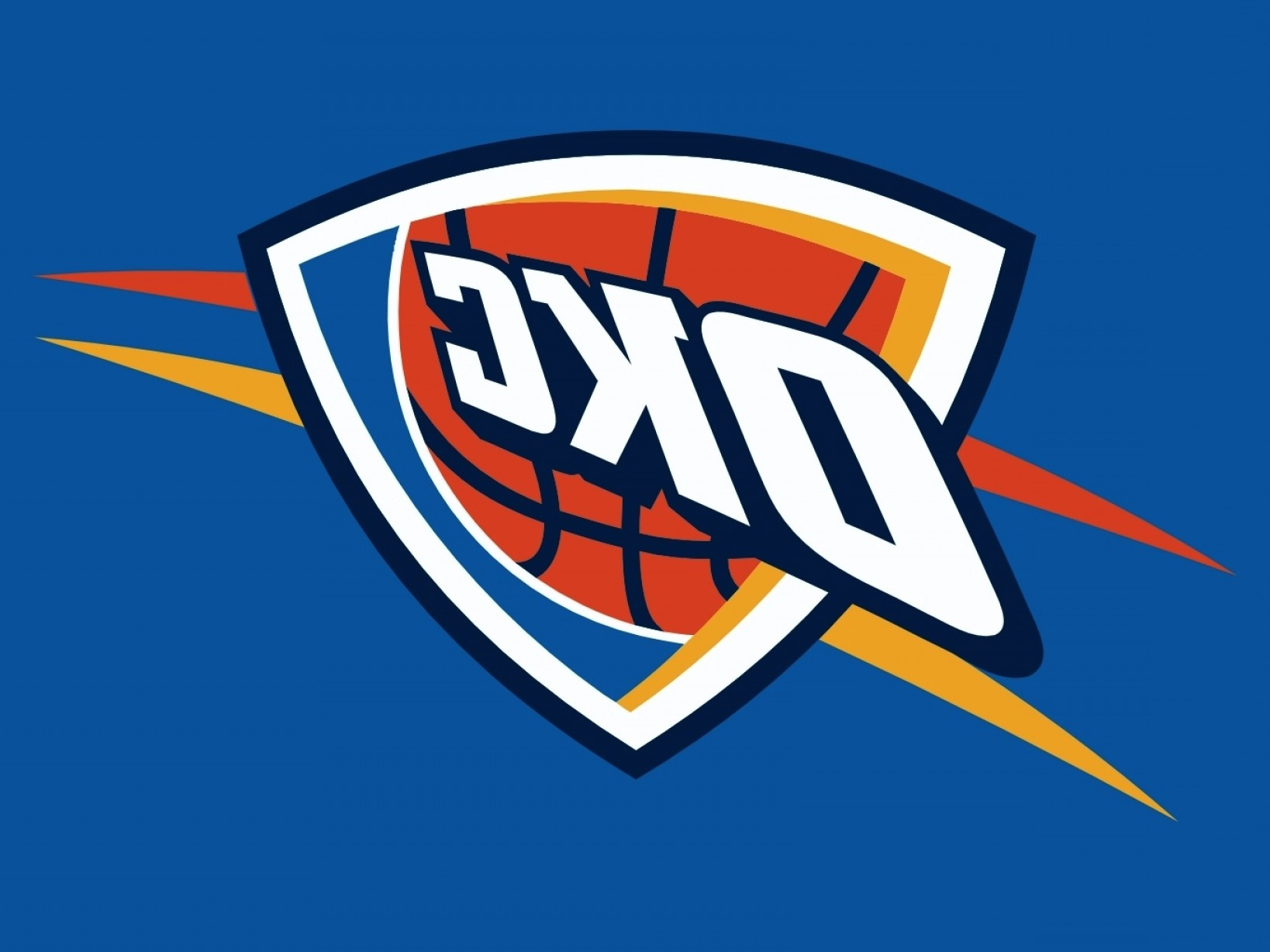 Vector NBA LogoArt: Nba Team Preview Oklahoma City Thunder