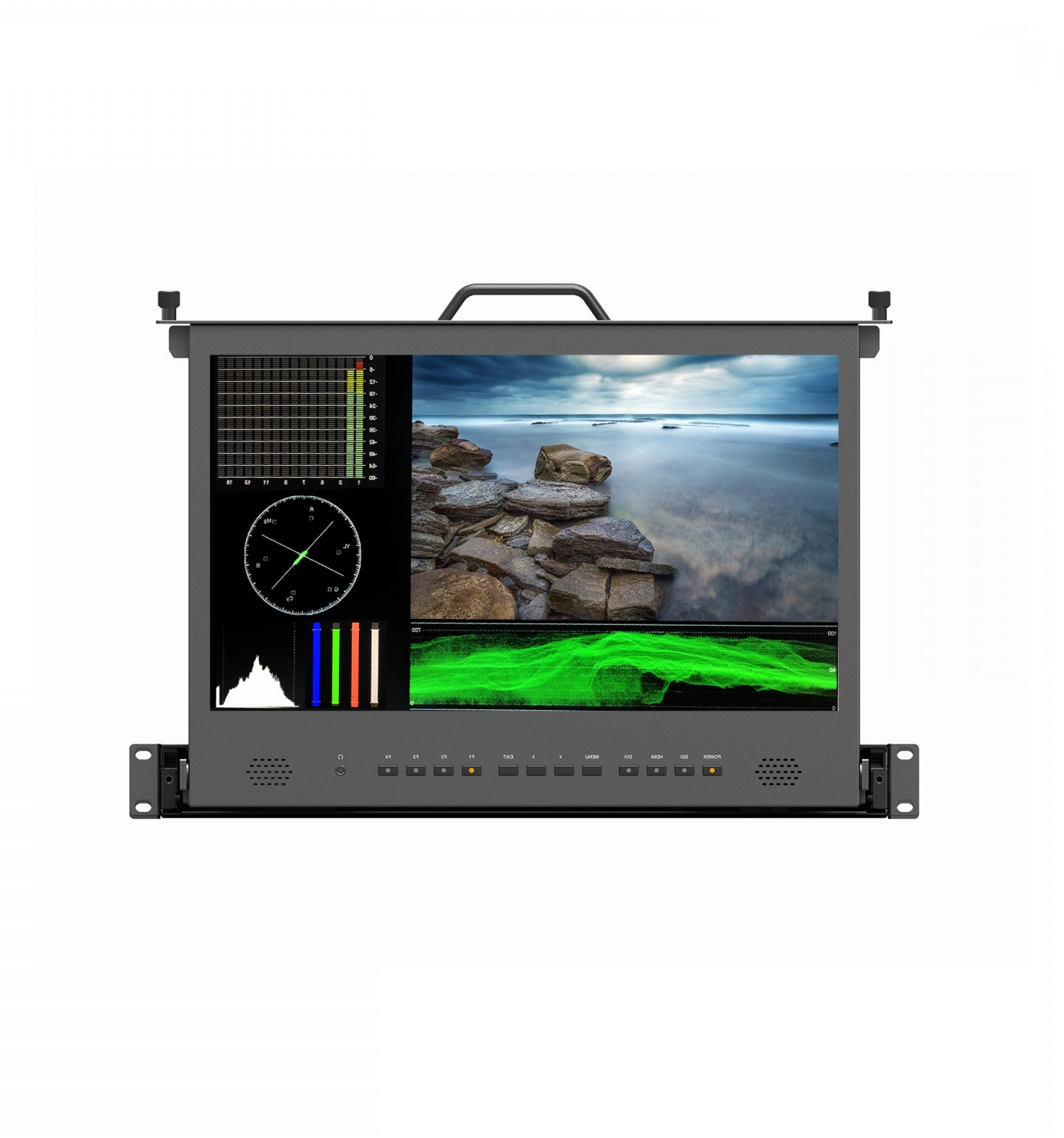 Vector Monitors Mac: Nebtek Inch Hd Pull Out Rack Monitor