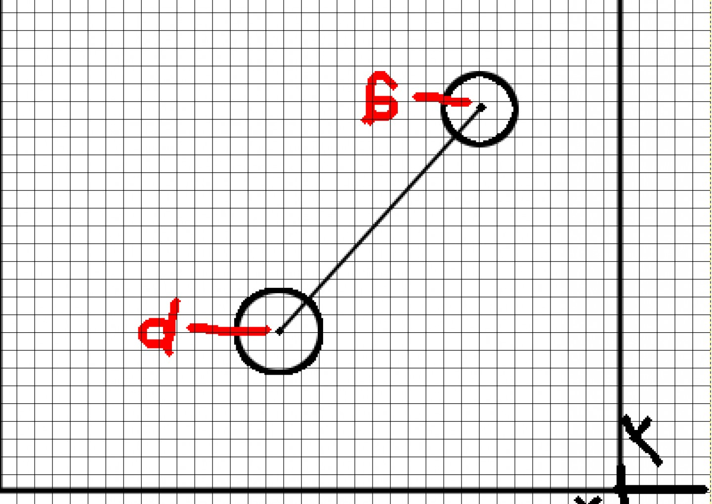 When Two Vectors Are Parallel: Need Help With Getting A Direction Vector Between Two Given Points