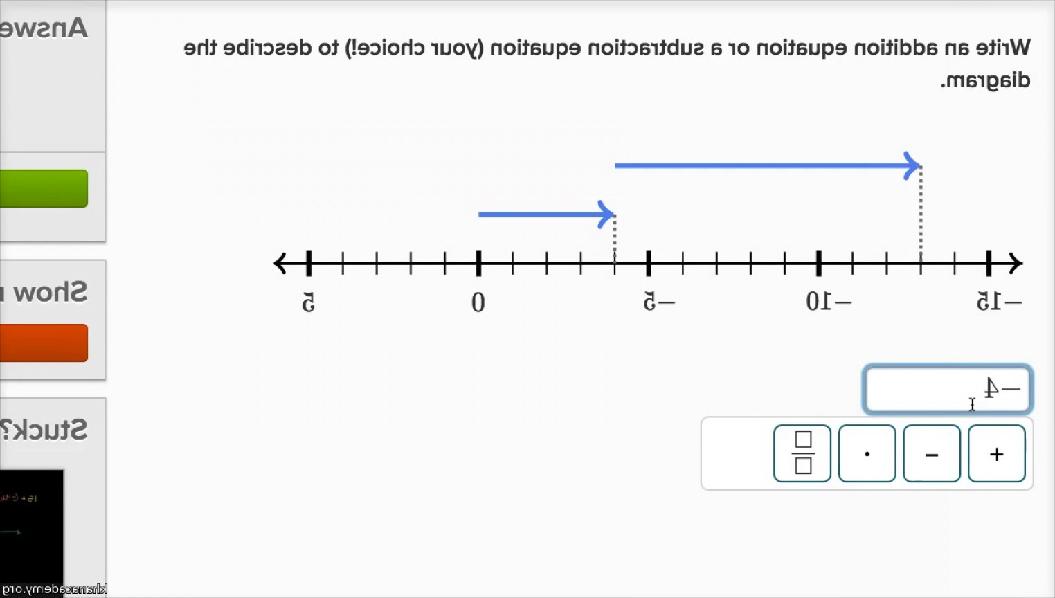 Adding And Subtracting Vectors Formula: Negative Number Addition And Subtraction Equations And Number Lines