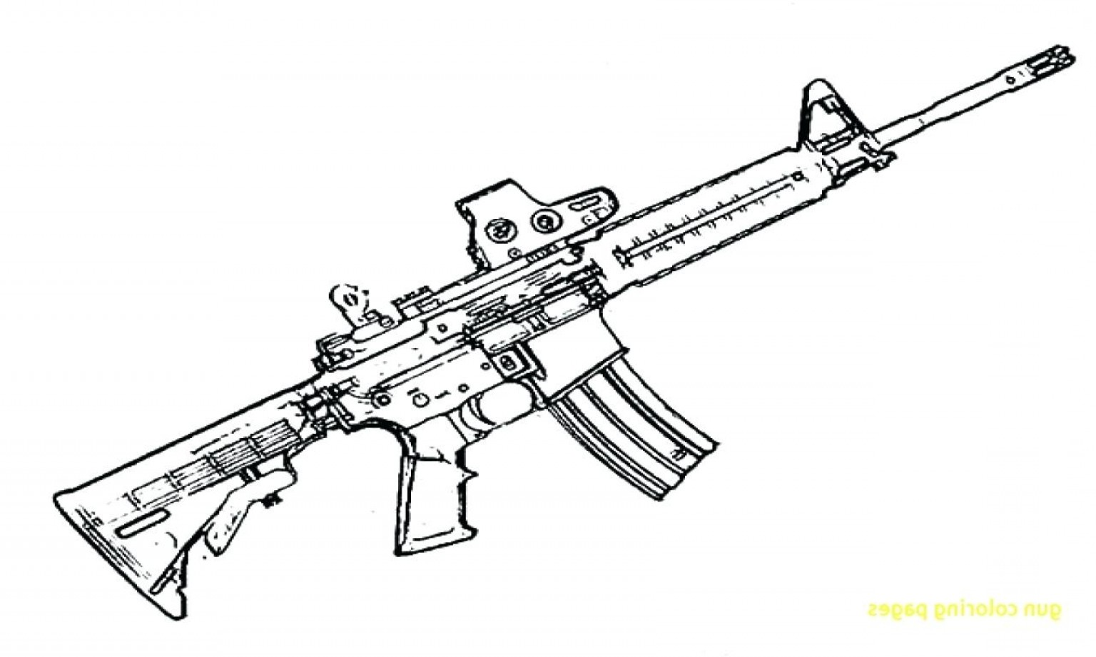 Nerf Gun Vector: Nerf Gun Coloring Pages With Nerf Gun Coloring Pages Lapes Org