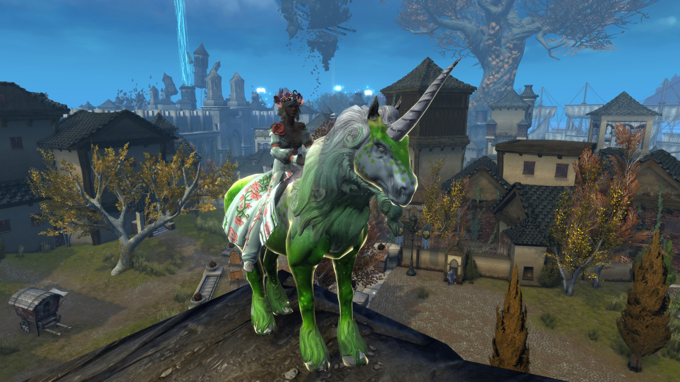Godfather Black And White Unicorn Vector: Neverwinter The Cloaked Ascendancy Console Launch Unicorn Mount Raffle
