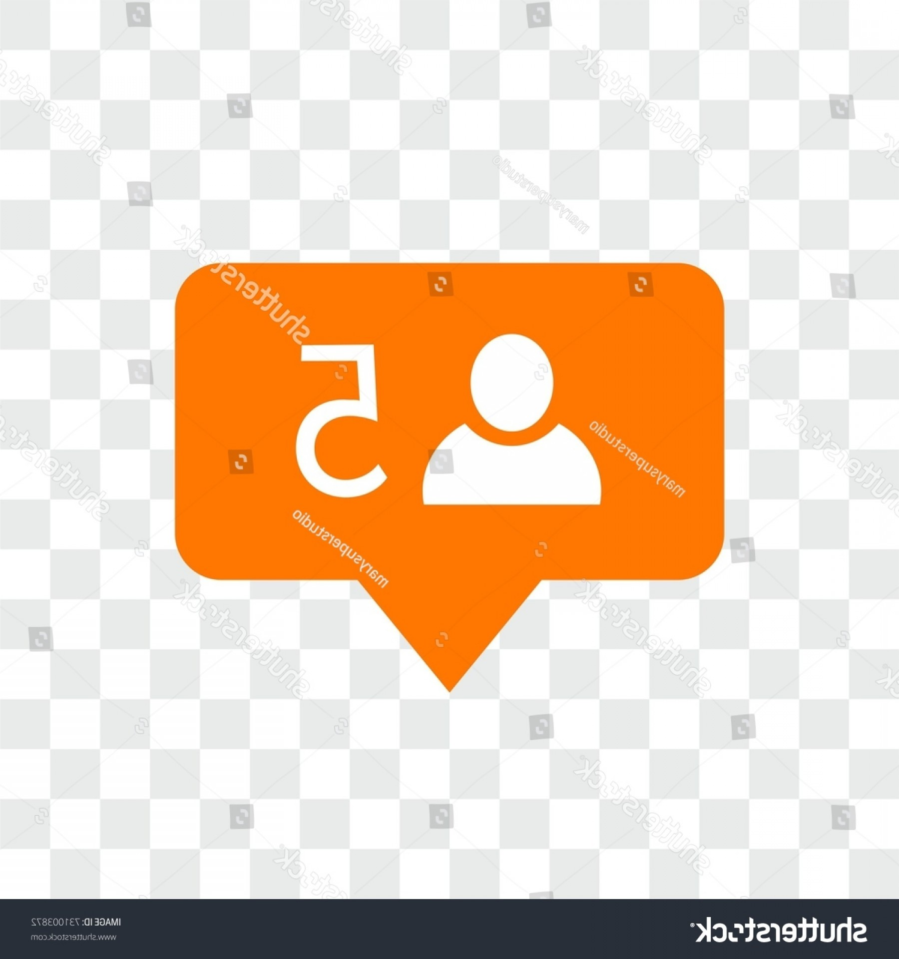 Official Instagram Icon Vector: New Follower Instagram Icon Notification Sign