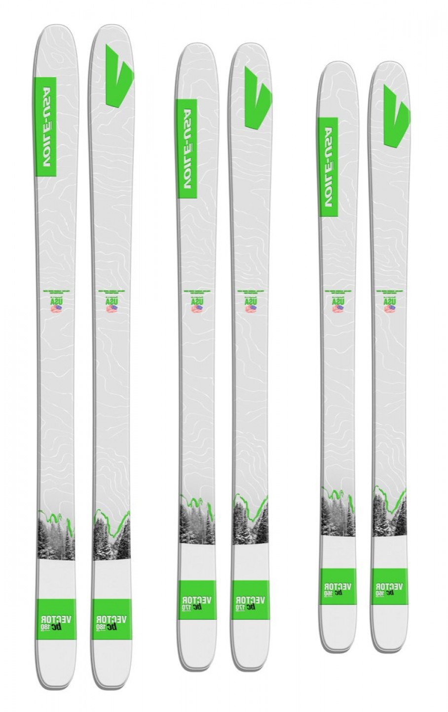 Voile Vector Ski Review: New Voile Backcountry Waxless Skis In Stock Now