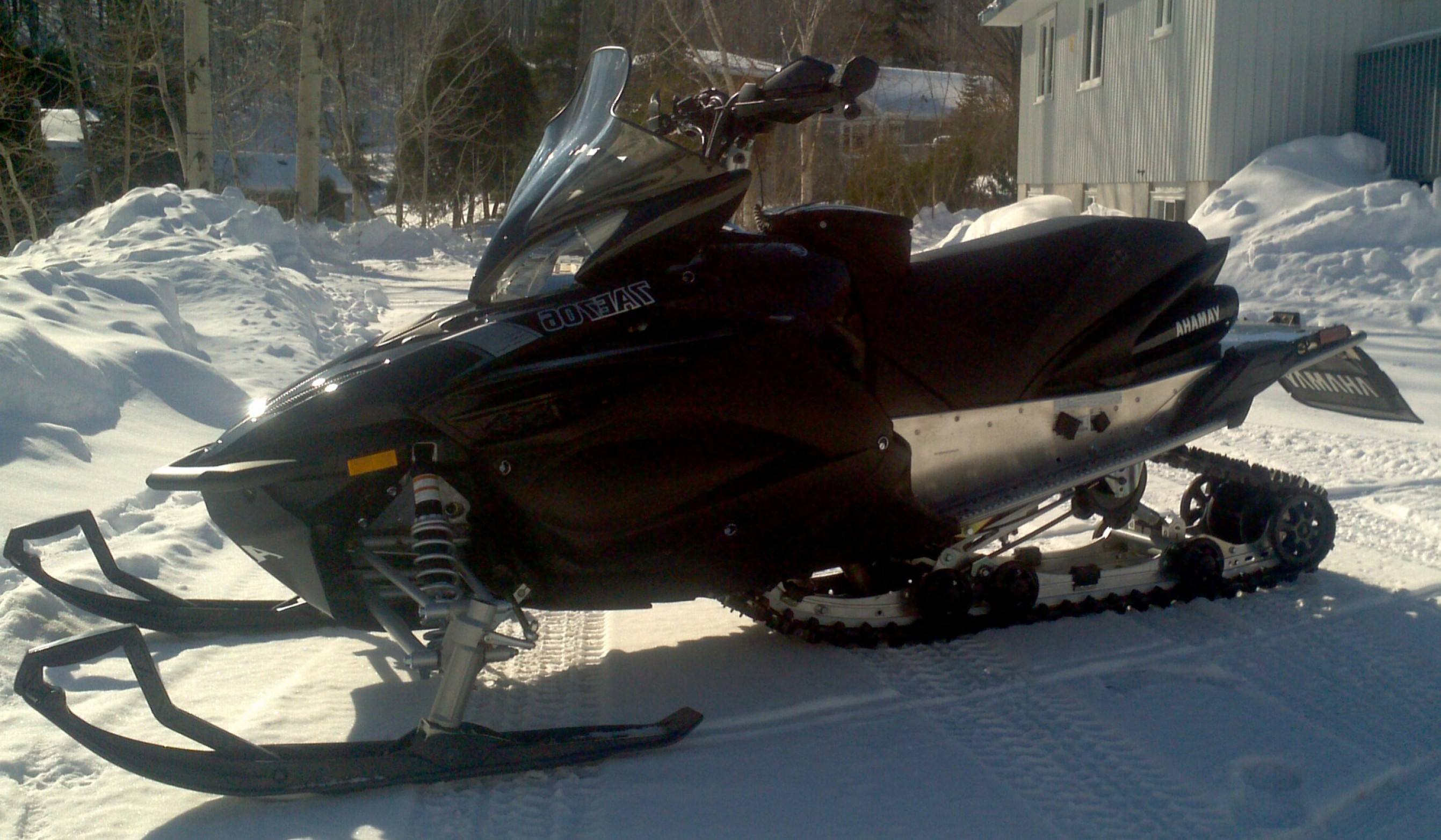 2011 Yamaha Vector Snowmobiles: New Wrp Seat Mod For Up Apex