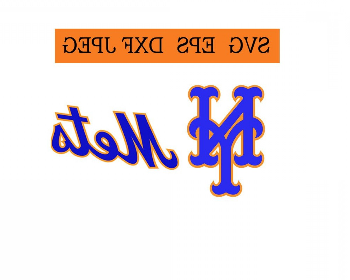Mets Logo Vector: New York Mets Logo In Svg Eps Dxf Jpg