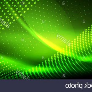 Vector Smooth Green: Neon Green Smooth Wave Digital Abstract Background Neon Vector Smooth Wave Digital Abstract Background Image