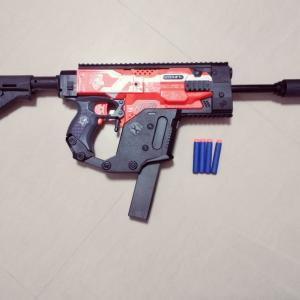 Kriss Vector Modifications: Nerf Worker Kriss Vector Modded Stryfe