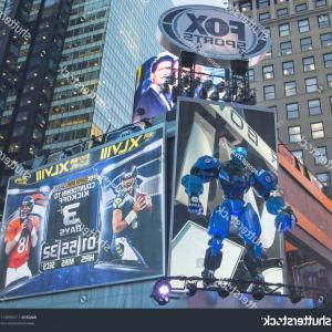 Super Bowl XLVIII Vector: New York January Fox Sports