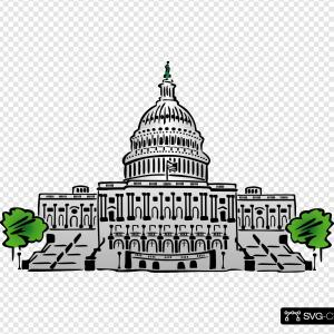 US Capital Vector Line Drawing: New York State Capitol